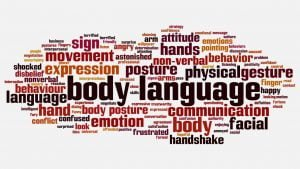 Body Language - Business marketing - AIESEC