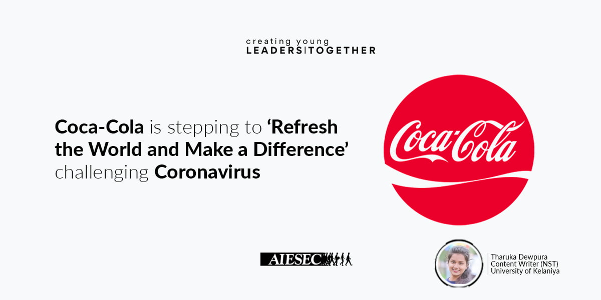 Coca-Cola against COVID-19