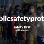 Public safety protocols social media campaign