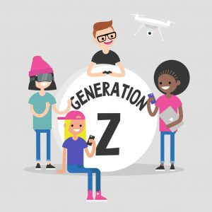 Generation Z and Cyber World