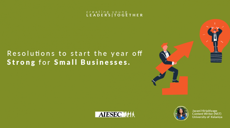 Resolutions to start the new year strong for small businesses