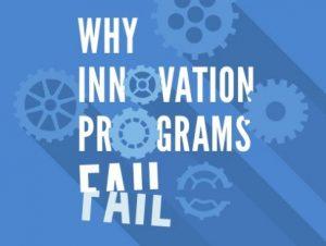 Failed innovation efforts and succeeding
